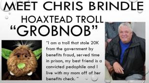 chris brindle hoaxtead troll grobnob