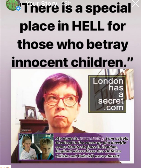 karen irving special place in hell