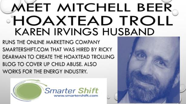 mitchell beer hoaxtead troll karen irving husband 3