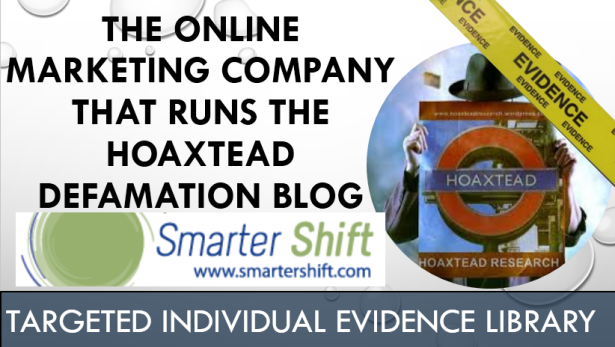 smartershift.com runs hoaxtead satanic defamation blog